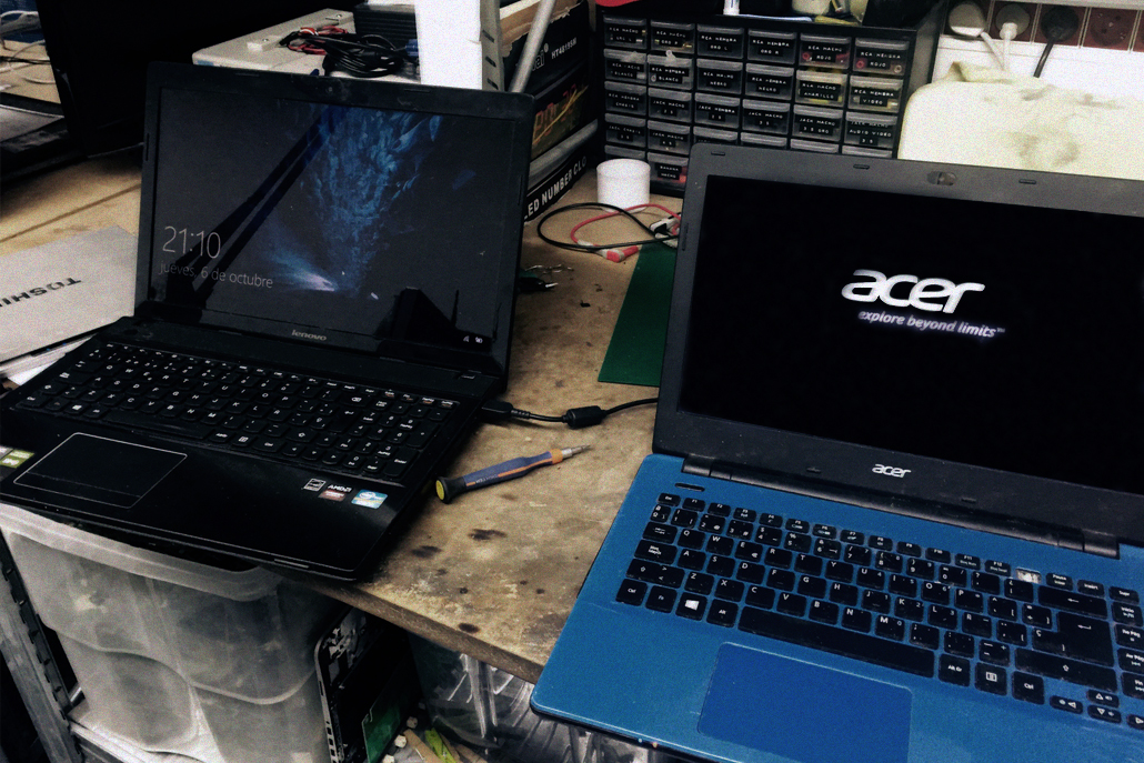 Reparaci n ordenadores port tiles limpieza de virus en for Reparacion de portatiles en barcelona