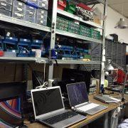 Taller de reparación de portátiles y tv