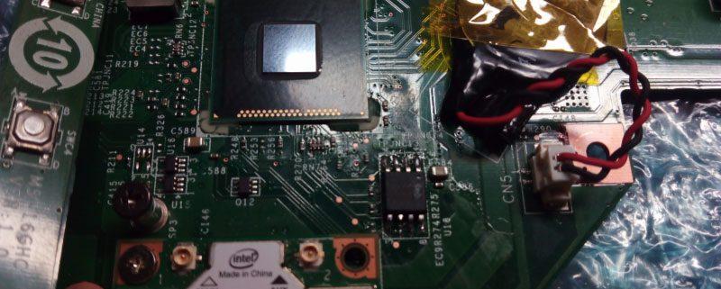Reparación placa base MSI
